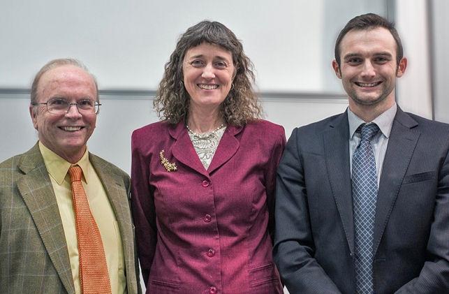 Eric Priest, Jennifer Wiseman and Andrew Torrance