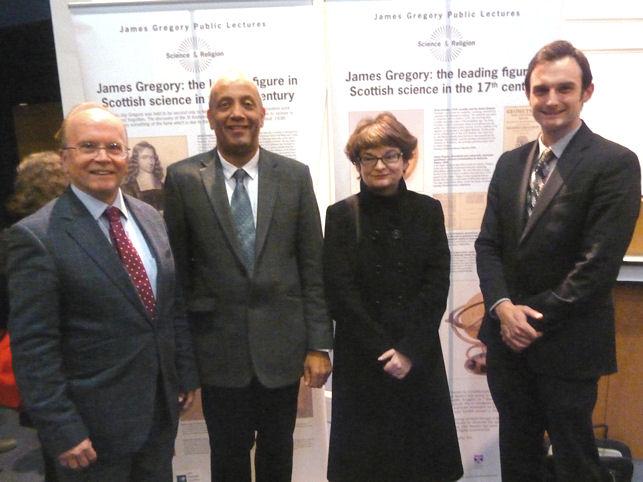 Eric Priest, John Swinton, Sally Mapstone and Andrew Torrance