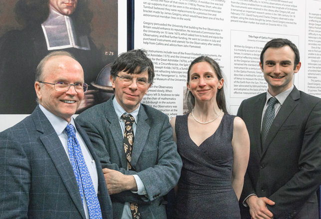 Eric Priest, Simon Conway Morris, Judith Wolfe and Andrew Torrance