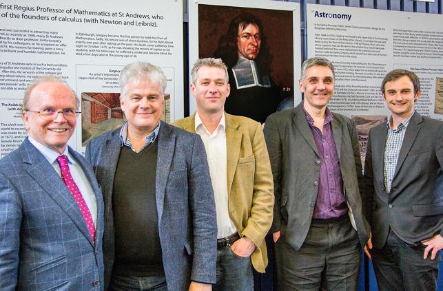 Eric Priest, David Strachan, David Malone, Mark Tanner, Andrew Torrance