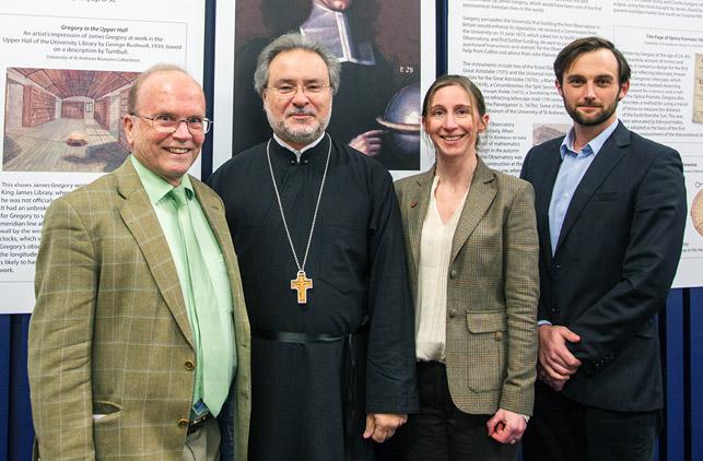 John Chryssavgis with Andrew Torrance, Judith Wolfe and Eric Priest
